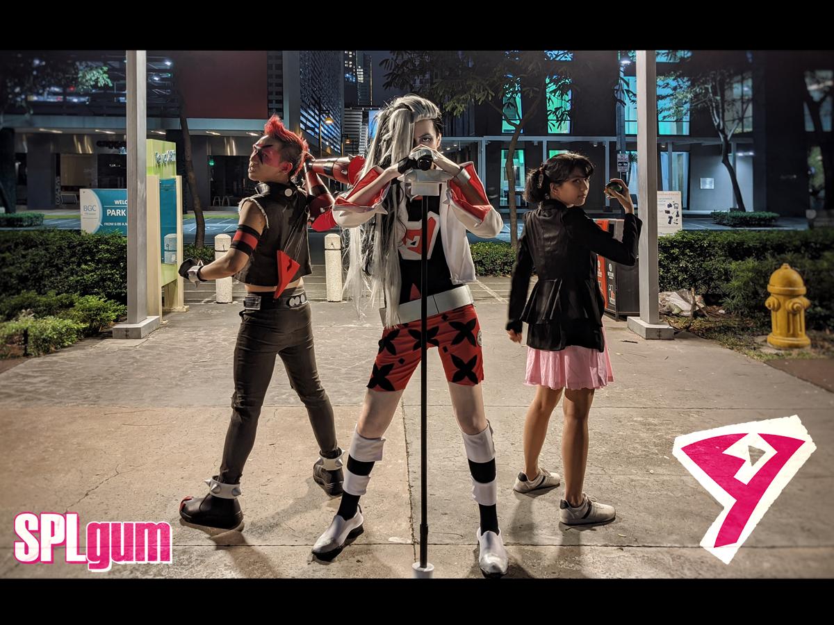 Pokemon Sword and Shield - Team Yell Cosplay