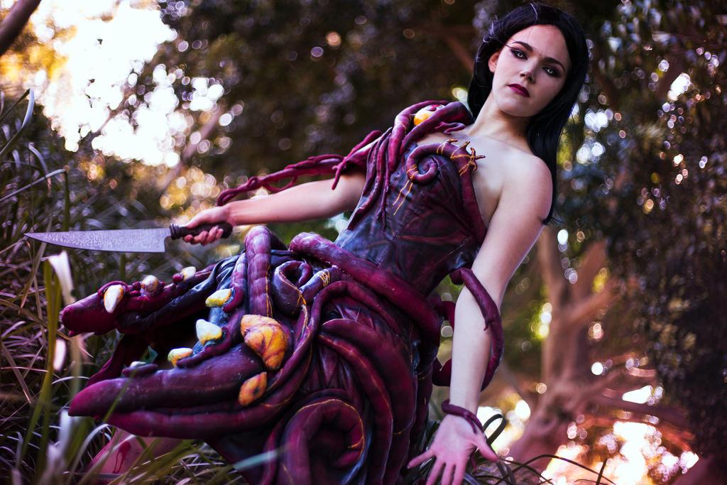 Fleshmaiden by queencattabby