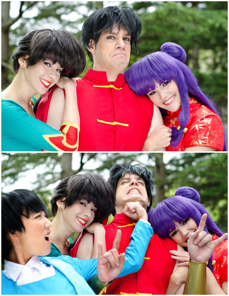 The Ranma Hug Punch by queencattabby