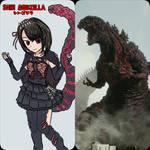 SHIN GODZILLA - Anime Moe fanart.