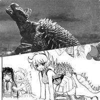 ANGUIRUS - Anime Moe fanart. by GoMonsterMaster91