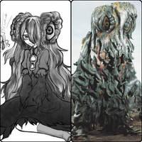 HEDORAH - Anime Moe fanart. by GoMonsterMaster91