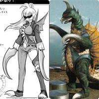 GIGAN - Anime Moe fanart. by GoMonsterMaster91