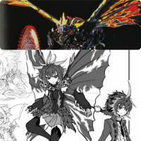 BATTRA  - Anime Moe fanart. by GoMonsterMaster91