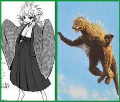 VARAN  - Anime Moe fanart. by GoMonsterMaster91