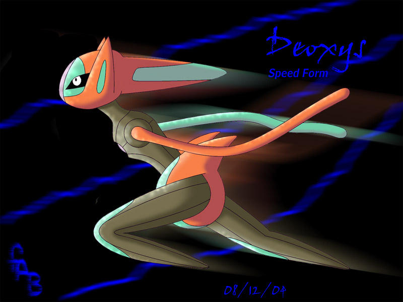 Deoxys - Speed Form by fab-wpg on DeviantArt