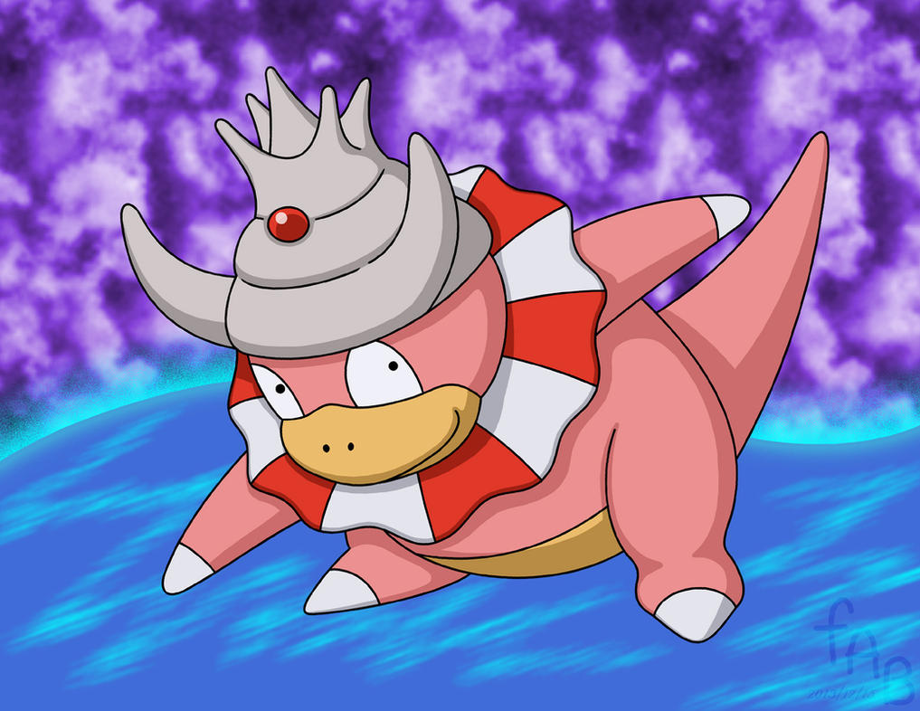 Slowking's Surf by fab-wpg