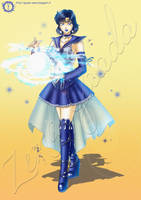 Sailor Mercury Challenge by hisui1986