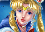Sailor Moon Redraw Challenge by hisui1986