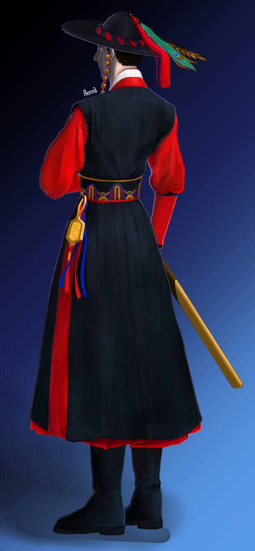 Korean Warrior by HiinKki