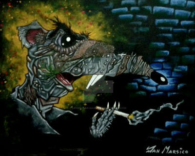 TREVOR THE RAT from MEET THE FEEBLES by DEMON-DAN-MARSICO