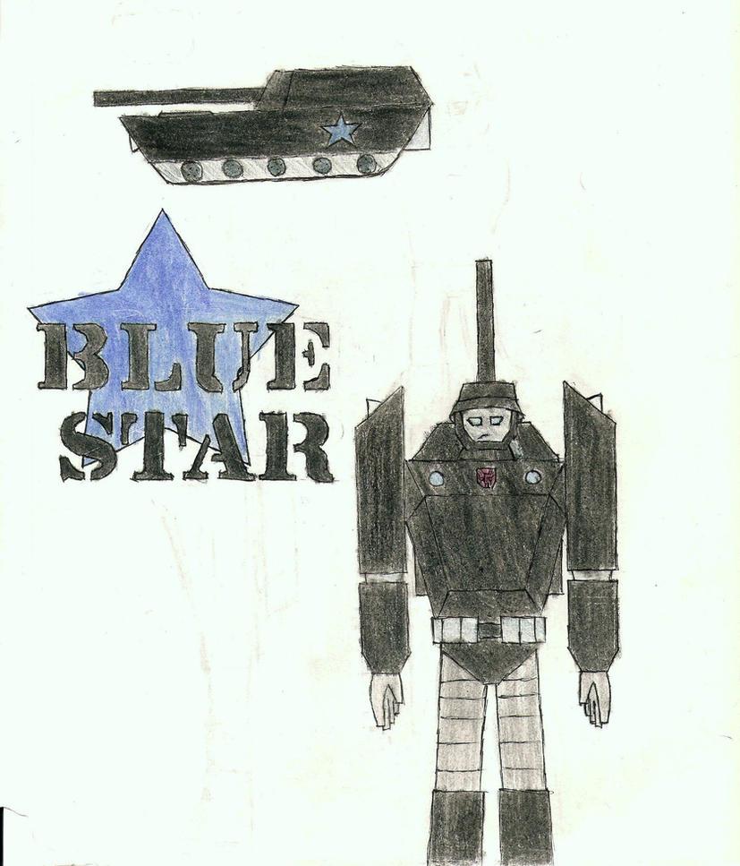 TFA oc: Blue Star by SharkNinjaBlueStar