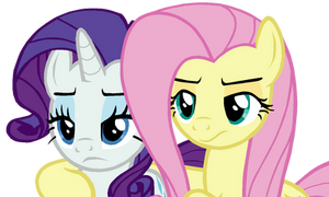 Fluttershy and Rarity #1 (...) by TheHylie