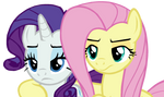 Fluttershy and Rarity #1 (...)