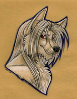 Anthro Karoon Portrait by Mirri