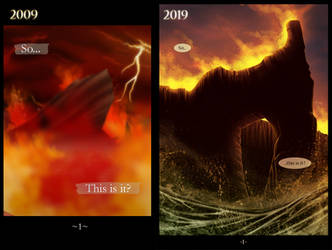 Then and now by Mirri