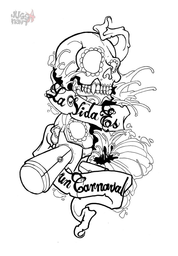 La Vida Es Tat Design LW by Jugganaut-Cubano