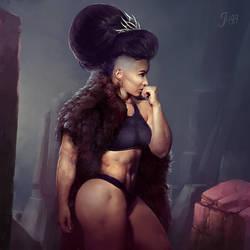 Warrior Princess by Jugganaut4Life