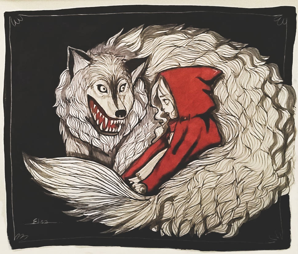 Red Riding Hood (Contest Entry) by puh-gly