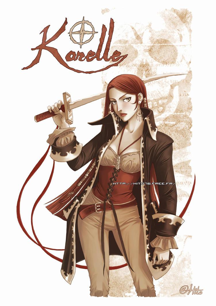 Karelle Sketchbook by Hito76