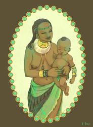 Mum and Child by Hito76