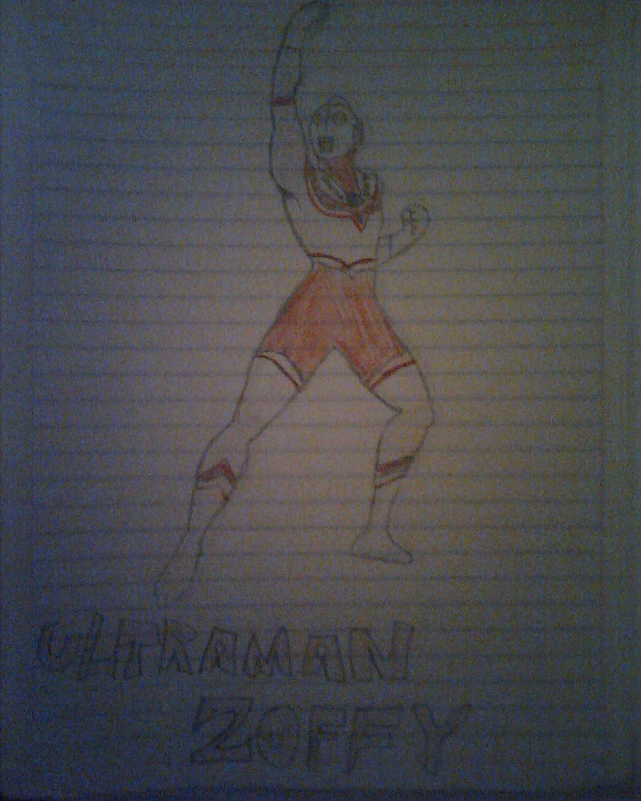 Ultraman Zoffy by daigospencer