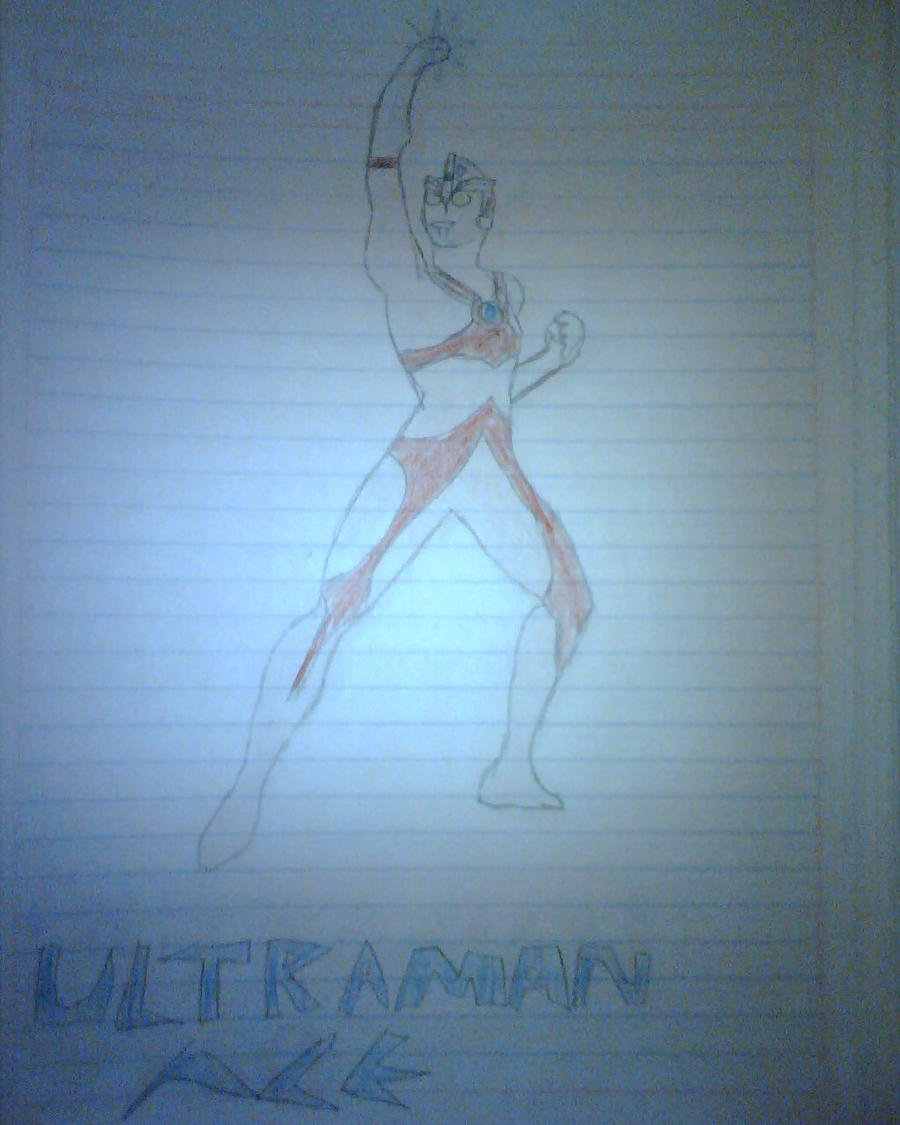 Ultraman Ace by daigospencer