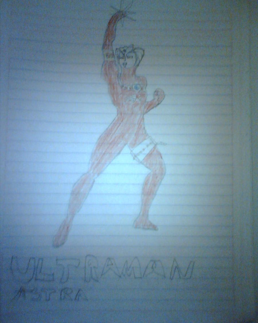 Ultraman Astra by daigospencer