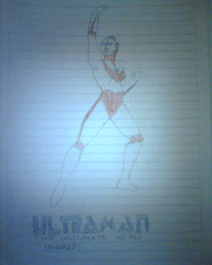 Ultraman The Ultimate Hero by daigospencer