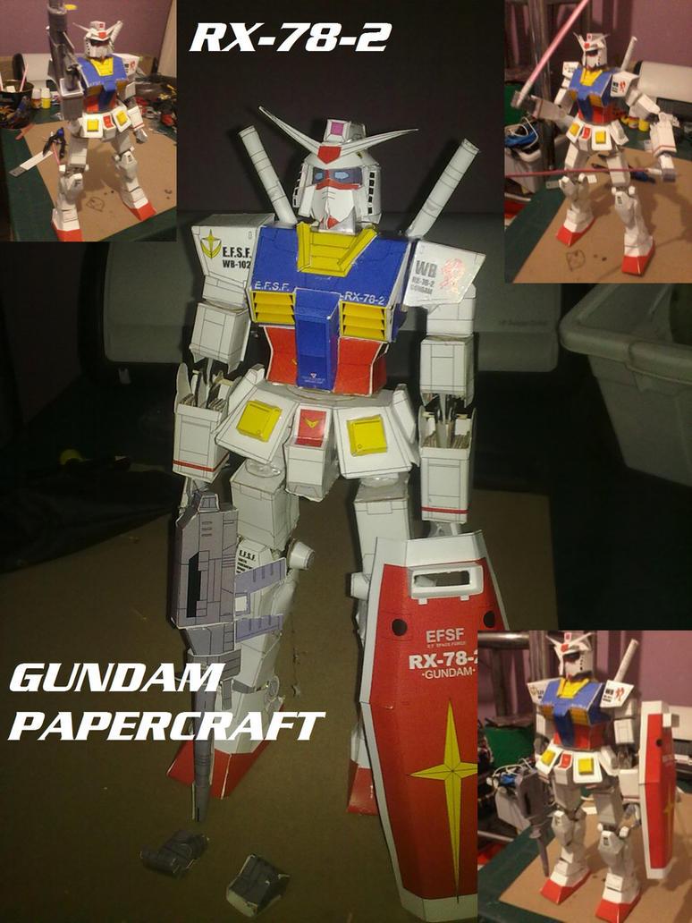 RX-78-2 Gundam Papercraft by daigospencer
