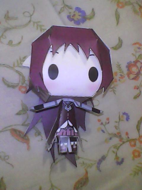 Chibi Kyoko Sakura papercraft by daigospencer