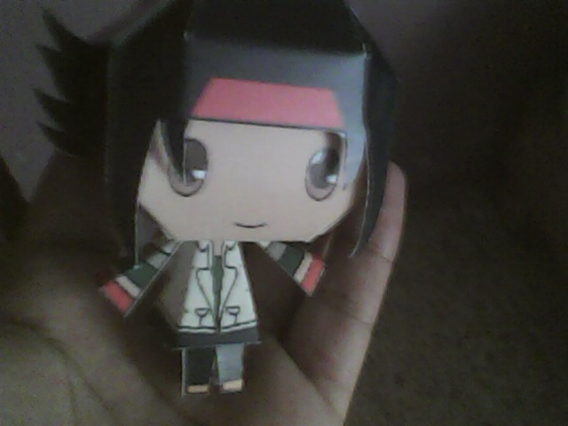 Chibi domon kasshu papercraft by daigospencer on deviantart for Domon kasshu quotes