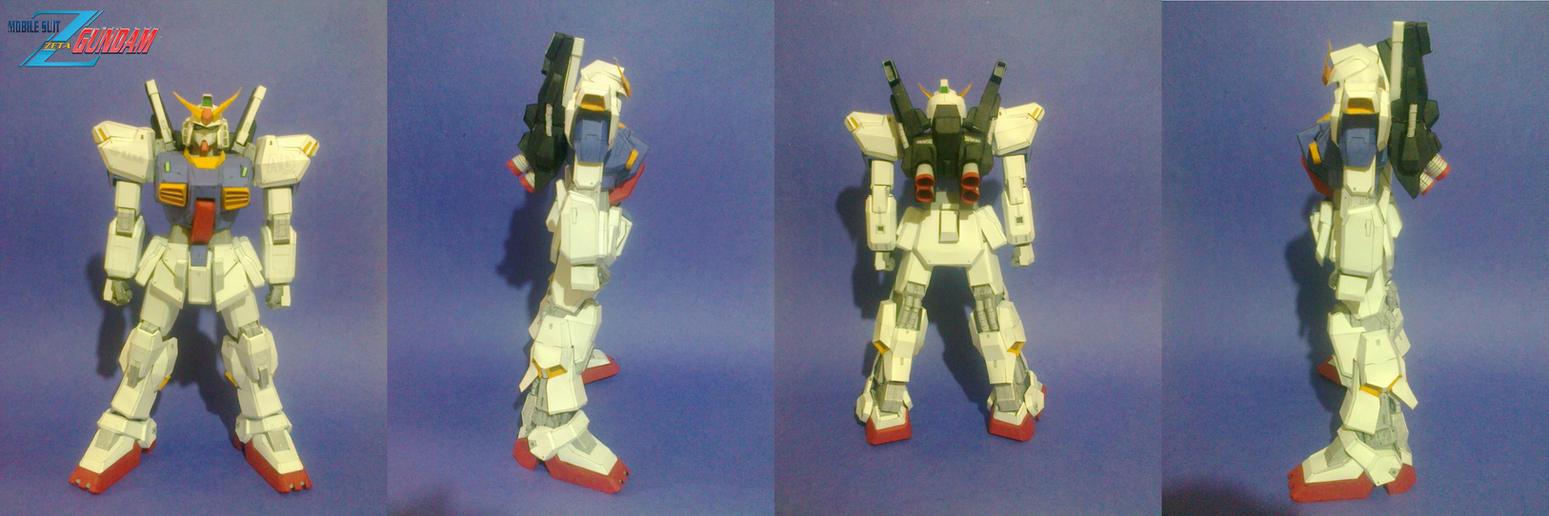 [JUNE]RX-178 Gundam MK II papercraft AEUG version by daigospencer