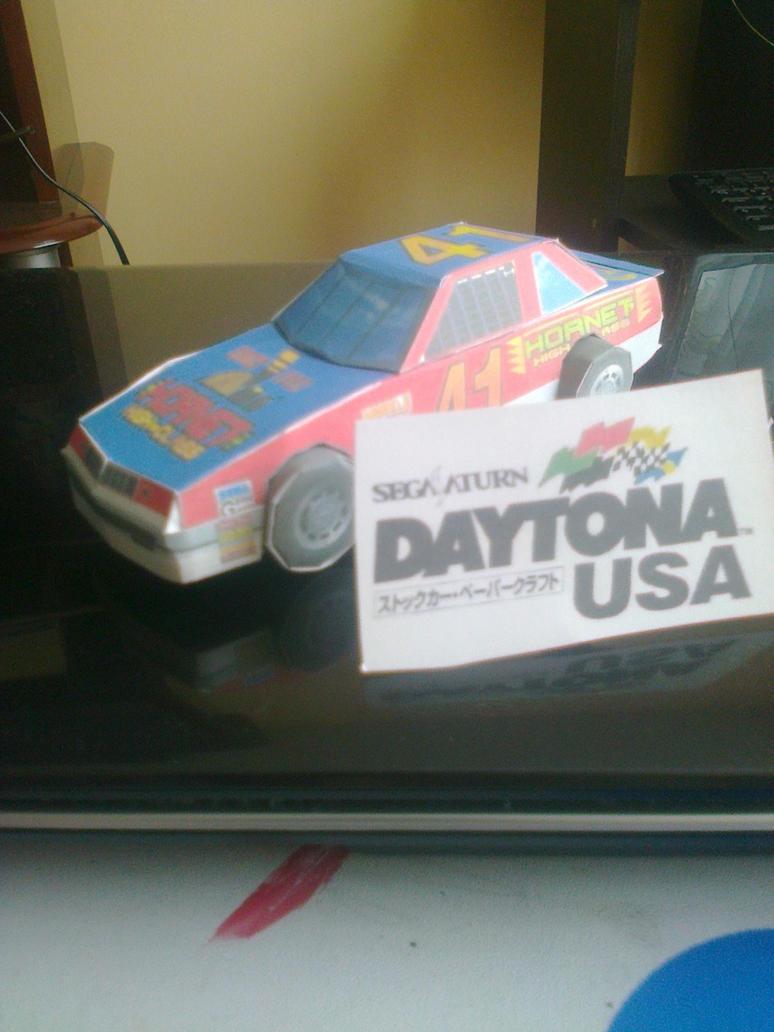 Daytona USA Hornet official papercraft by daigospencer