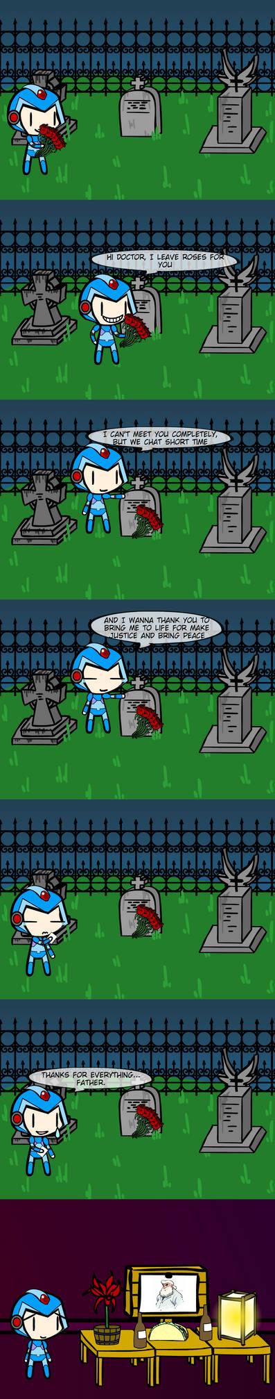 (Walfas comic) X commemorate Dia de muertos