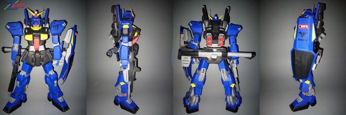 (JUNE) RX-178 Gundam MK II Titans papercraft