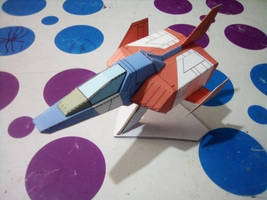 FF-X7 Core Fighter papercraft
