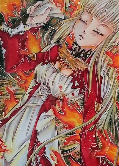 fire Seraph # 167 by Enatis