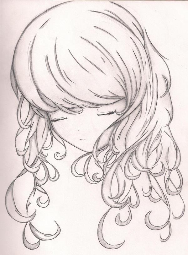 Curly Hair by 4ever-artist on DeviantArt