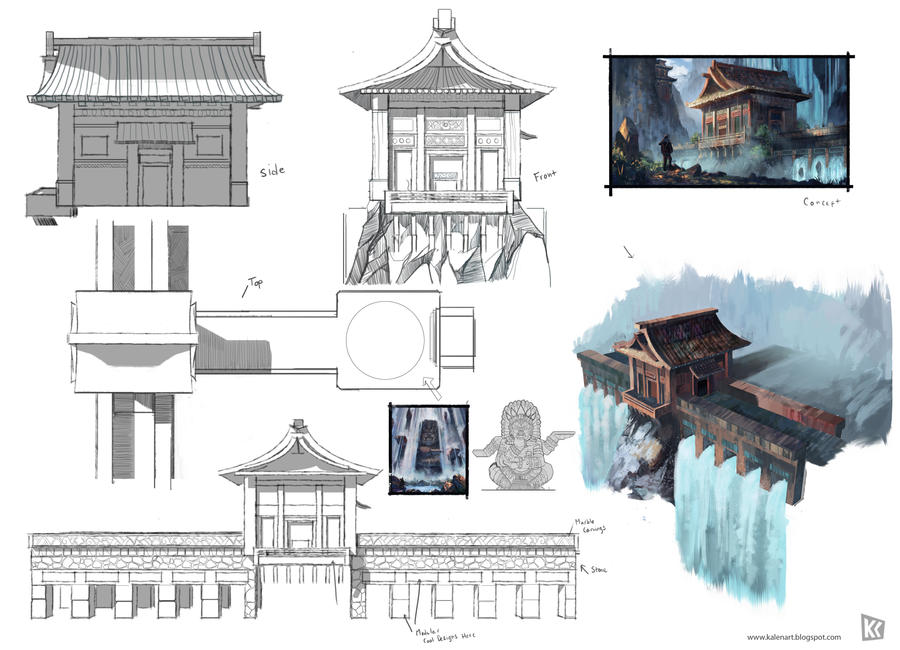 Redesign Temple Layout by k04sk