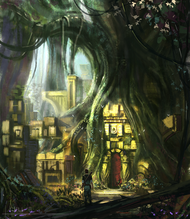 Forest Ruins LS by k04sk