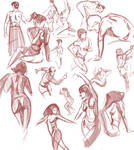 life Drawing practice