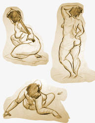 Life Drawing 4 by Re6ilient