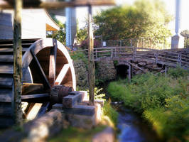 Sawmill wheel circa 1650 by MountainStorm