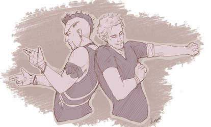 Vaas and Jason by torylesner