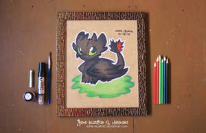 Toothless (From: How to train your Dragon) by JaNe-KLaiR-KZ
