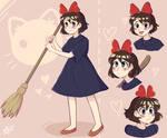 Kiki doodles by kori-3