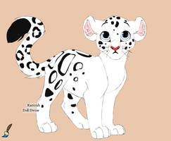 A very different snow leopard by Animalover99