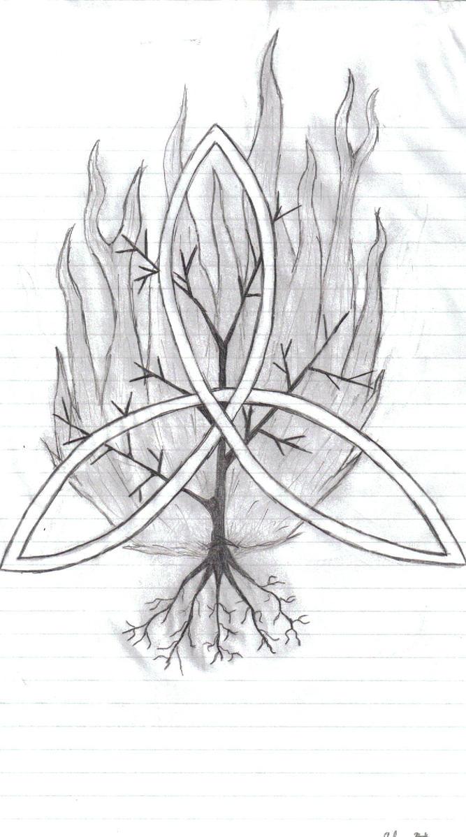trinity and the burning bush by hxcmunashiiartist on deviantart. Black Bedroom Furniture Sets. Home Design Ideas