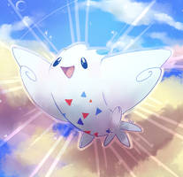 [Day 5] Togekiss by PinkGermy